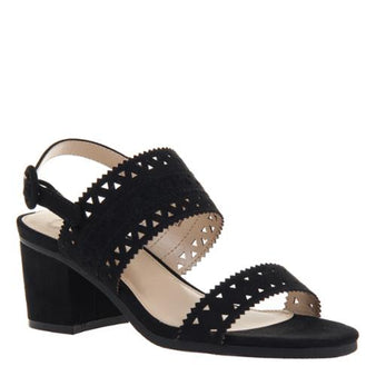 Outerbanks Strap Heel : Black