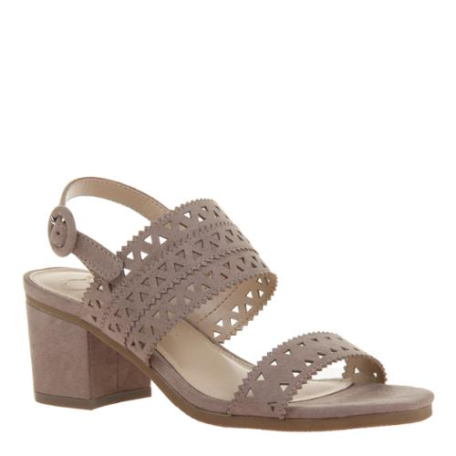 Outerbanks Strap Heel : Taupe