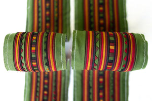 Fat Quarter Bundle-Green/Orange-03863
