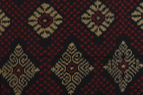 Bali Ikat Kit #2 Red, Gold and Black