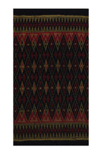 Load image into Gallery viewer, Bali Ikat #11 Red, Black and Gold