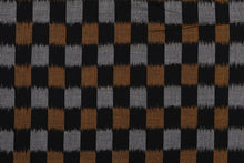 Load image into Gallery viewer, Bali Ikat Combo  #6 Black and Jewels