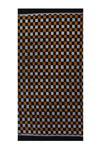 Load image into Gallery viewer, Bali Ikat #15 Black, Gold, and Silver