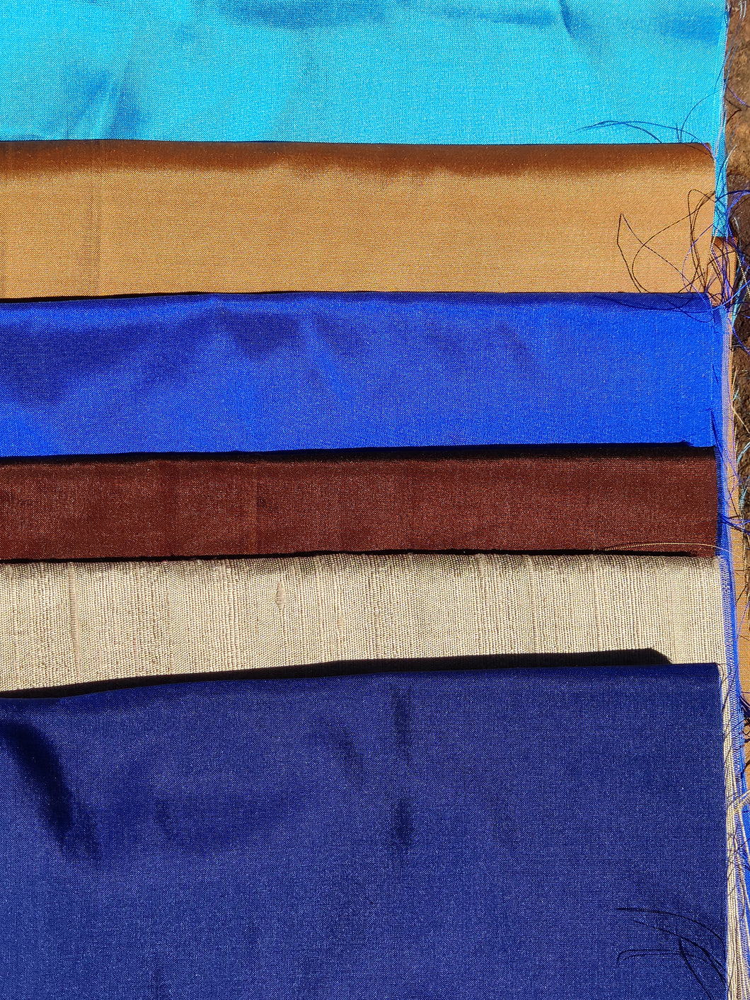 Blue Indigo Thai Silk