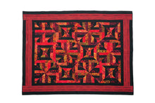 Load image into Gallery viewer, Bali Cotton Batik Strip Kits-02901 Red, black, gold