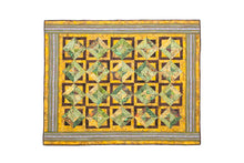 Load image into Gallery viewer, Bali Cotton Batik Strip Kits-02907 Green, Brown, Gold
