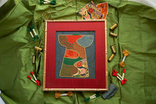 Load image into Gallery viewer, Green Kimono Needlepoint