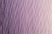 Load image into Gallery viewer, Chiffon Pintuck-Grape Ombre (Smoky Purple)