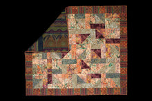 Load image into Gallery viewer, Burma Batiks-Green, Brown, Gold 51/1