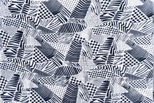 Load image into Gallery viewer, Rayon Bali Batiks-55010-Black and White #15
