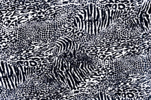 Load image into Gallery viewer, Rayon Bali Batiks-55010-Black and White #11