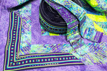 Load image into Gallery viewer, Bali Cotton Batik Strip Kits-02910 Blue, Turquiose, Lime Green