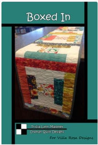 Boxed In Table Runner Pattern-ST-03463