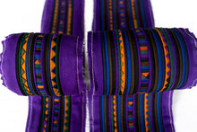 Load image into Gallery viewer, Bali Cotton Batik Strip Kits-02902 Purple, Gold