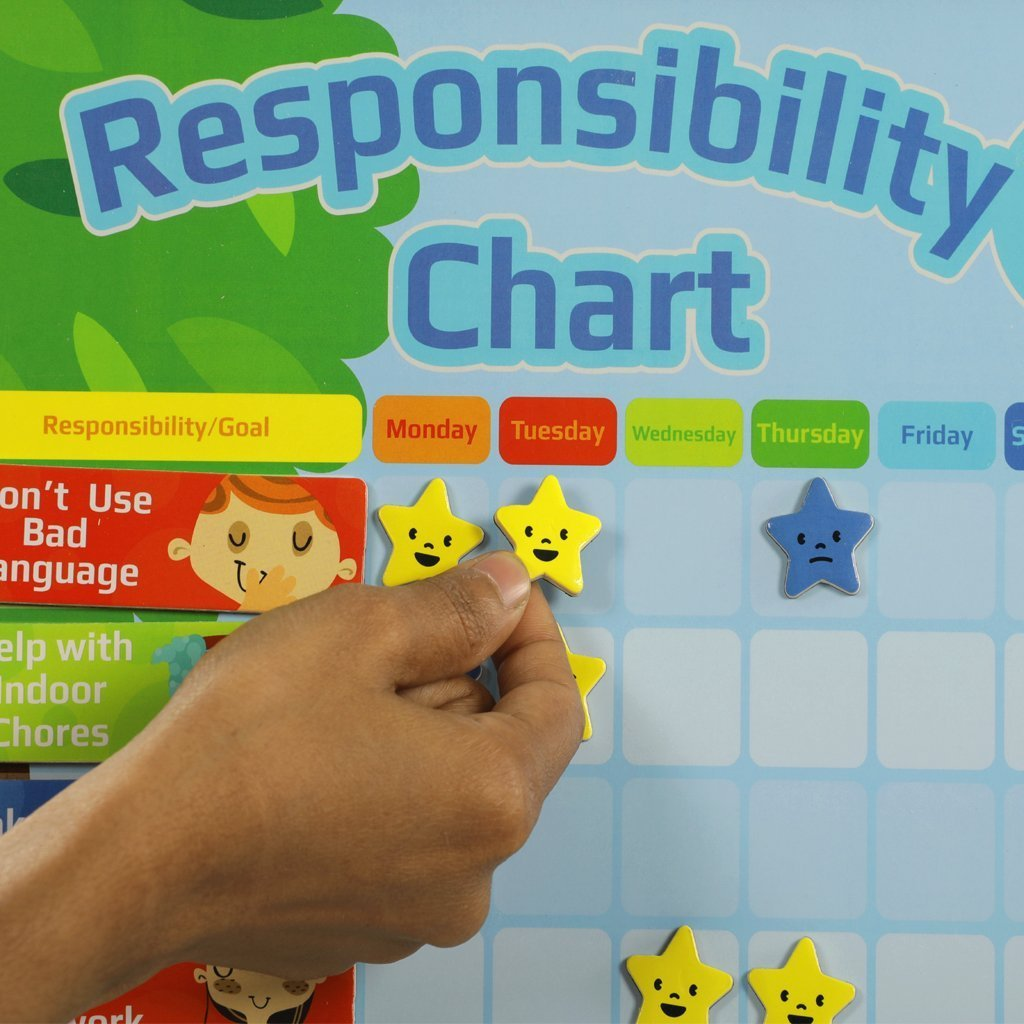 Behaviour Correction - Responsibility Chart - Bloomy Brain Toys