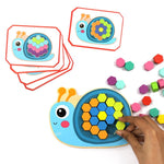 Colourful Mosaic Pattern Puzzle - Bloomy Brain Toys