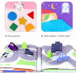 Daily Life - Baby Early Education Book - Bloomy Brain Toys