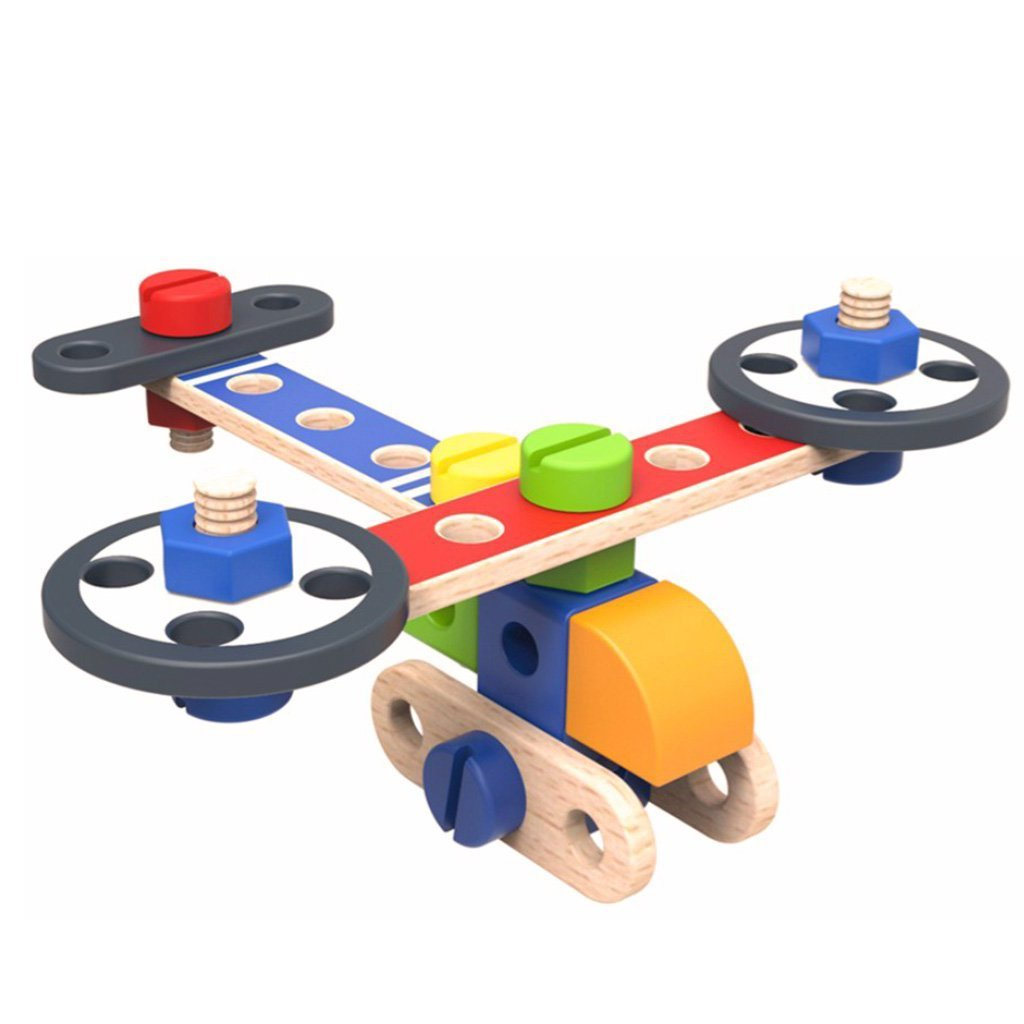Wooden  DIY Planes - Bloomy Brain Toys