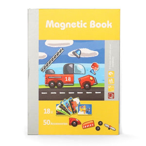 Magnet Book- Traffic Jigsaw Puzzle - Bloomy Brain Toys