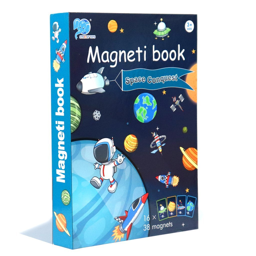 Magneti Book-Educational Game-Bloomy Brain Toys
