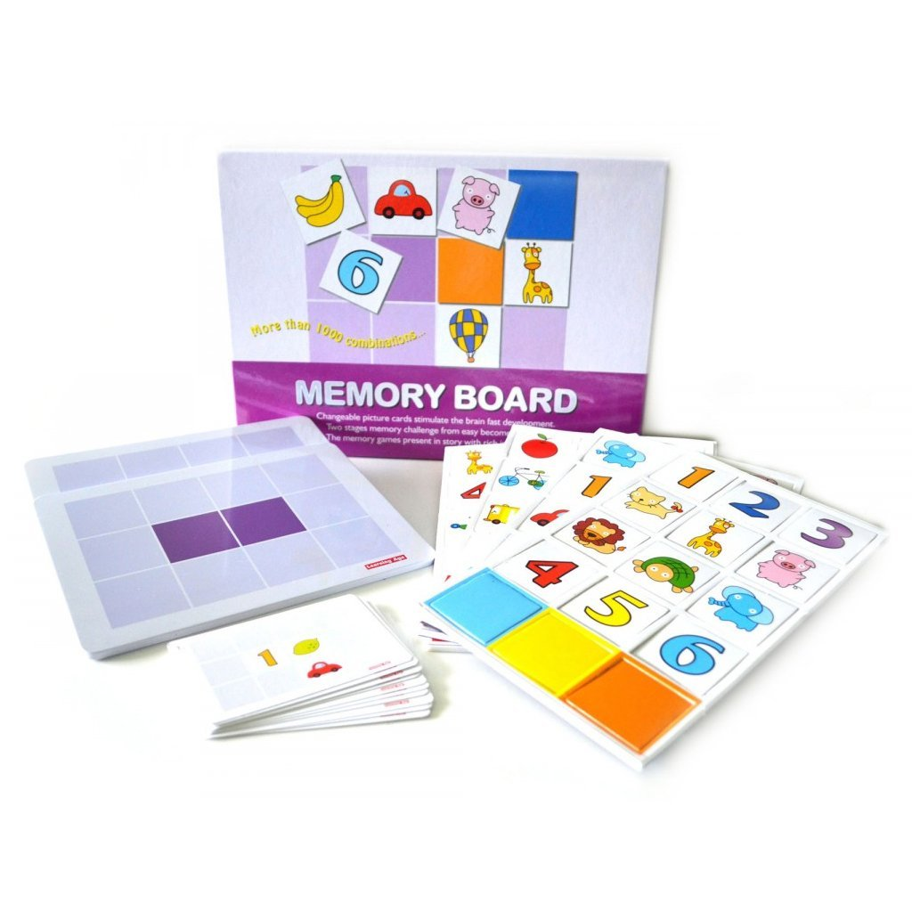 Magnetic Memory Board - Bloomy Brain Toys
