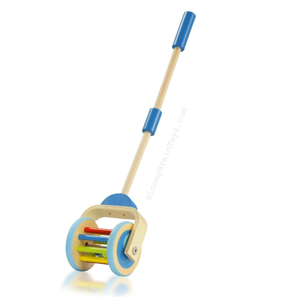 Push Along - Roller Walker Toy - Bloomy Brain Toys