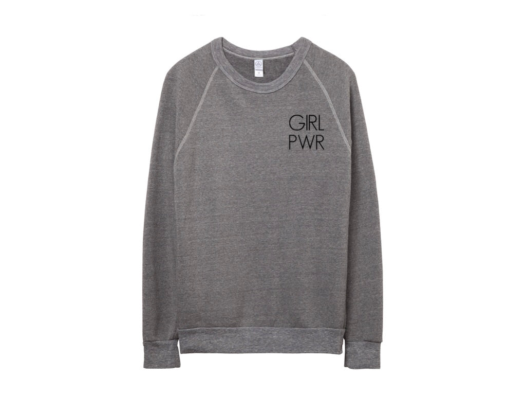 Girl Power Crewneck Sweater - andoveco