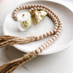 Tassel Beads- BLUSH - andoveco