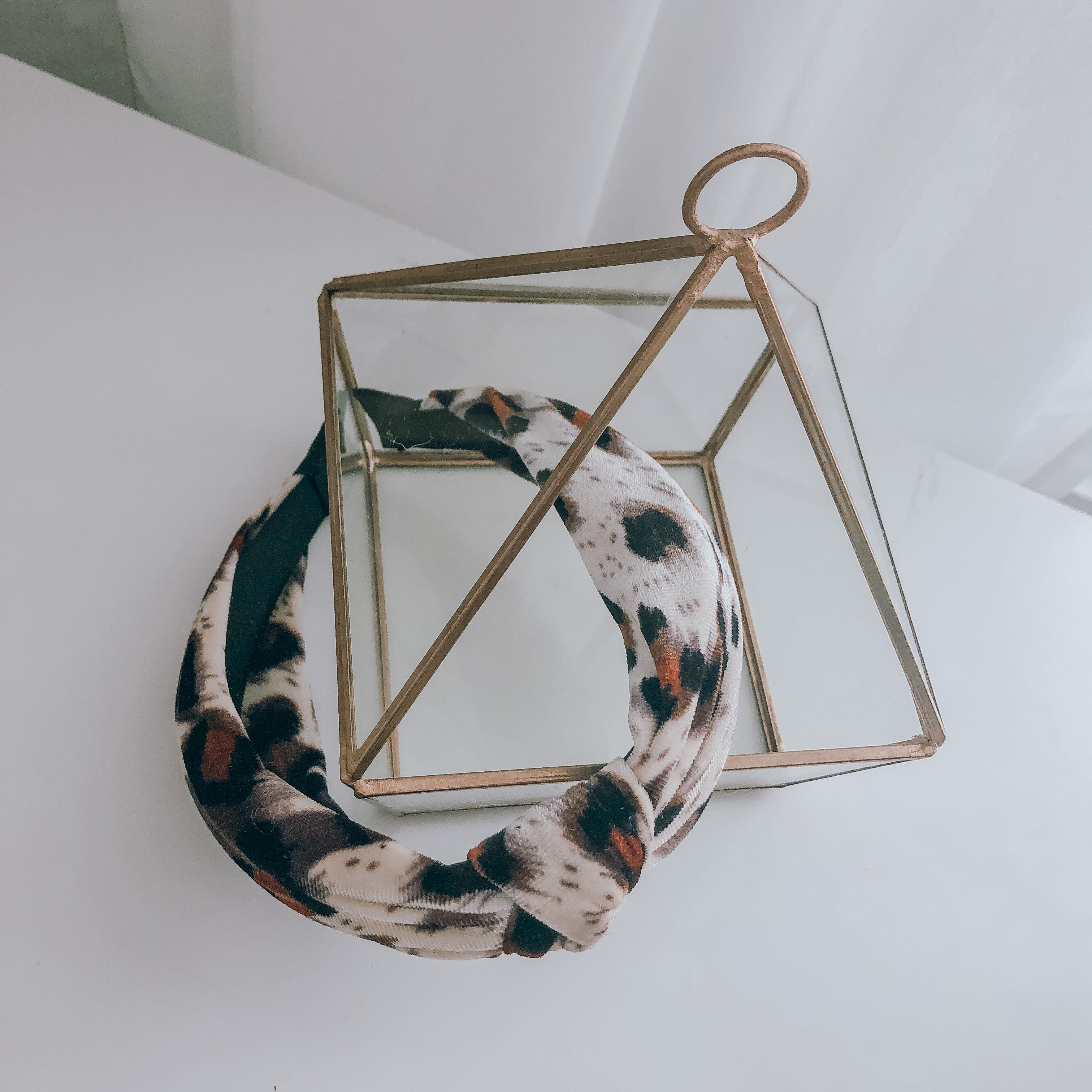 Leopard Knotted Headband - andoveco