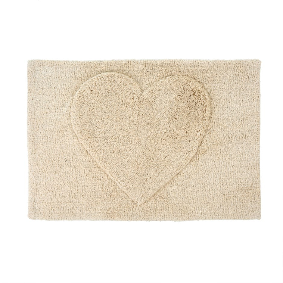 Love Heart Bath Mat (Fall 2020) - andoveco
