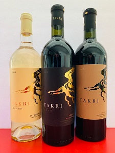 Takri Wines Sampler Set with FREE SHIPPING