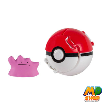 FIGURINE POKEMON<br>POKEBALL METAMORPH - mario-partyshop
