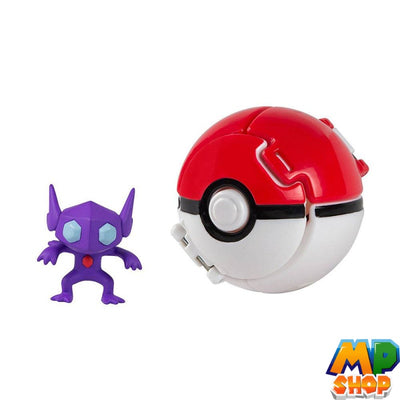 FIGURINE POKEMON<br>POKEBALL TENEFIX - mario-partyshop
