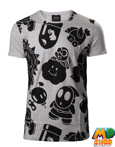 T-SHIRT NINTENDO<br> WORLD - mario-partyshop