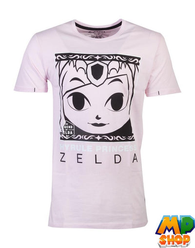 T-SHIRT ZELDA<br> PRINCESS LEGEND - mario-partyshop