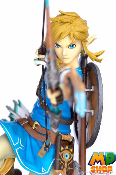 FIGURINE ZELDA BREATH OF THE WILD<br> LINK 25CM - mario-partyshop