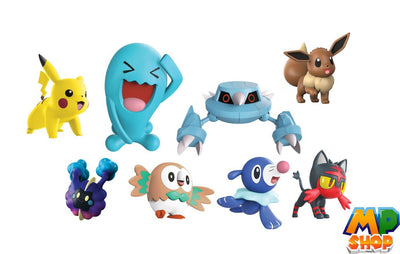 COFFRET FIGURINES POKEMON<br>8 PIECES SERIE 1 - mario-partyshop