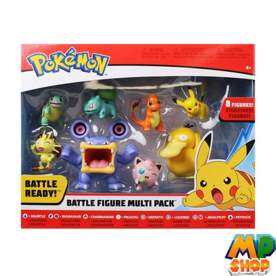 COFFRET FIGURINES POKEMON<br>8 PIECES SERIE 3 - mario-partyshop