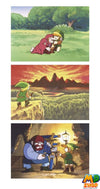 LIVRE ZELDA<br>ART AND ARTIFACTS (ANGLAIS) - mario-partyshop