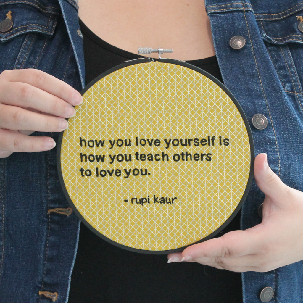 Self-love Embroidery