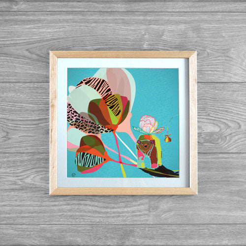 A Bear for Sarah Framed Print