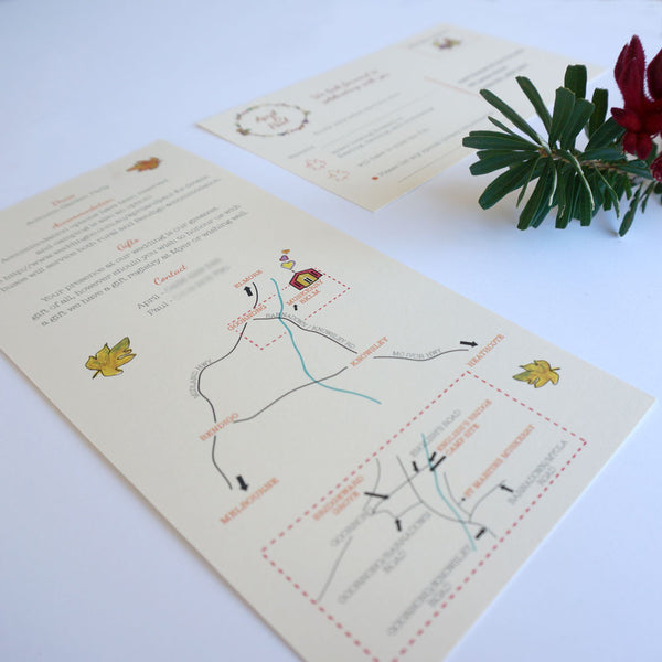 Wedding Invitation & RSVP