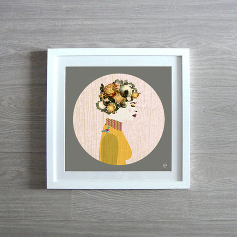 Baby Bird Framed Print- Limited Edition