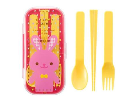 Bunny Triple Cutlery Set