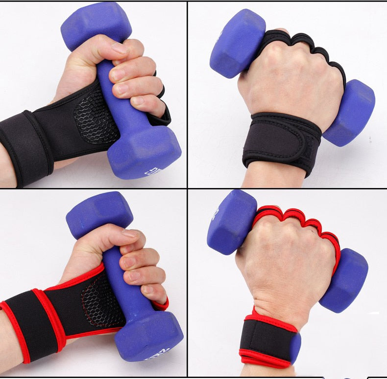 Pro Weight Lifting Training Gloves