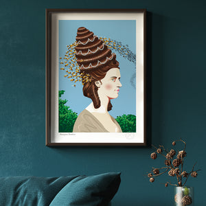A2 Georgian Beehive art print