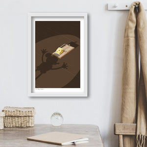 Oh Boy Cheese! art print
