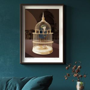 Sir Christopher Wren print