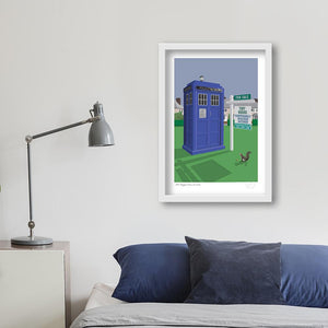 Dr Who art print