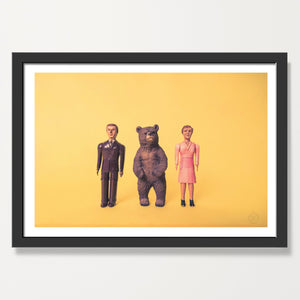 Bear and Friends art print
